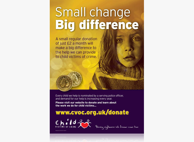 CVOC charity ad campaign advertising charities national press magazine