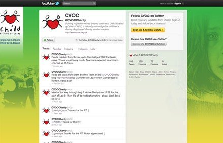 cvoc twitter page social media management
